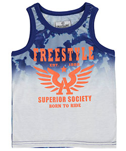 "Akademiks Little Boys' Toddler ""Superior Freestyle"" Tank Top (Sizes 2T – 4T) - CookiesKids.com"