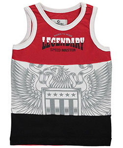 "Akademiks Little Boys' ""Speed Master"" Tank Top (Sizes 4 – 7) - CookiesKids.com"