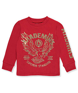 Akademiks Little Boys' L/S Shirt (Sizes 4 – 7) - CookiesKids.com