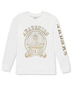 Akademiks Big Boys' L/S Shirt (Sizes 8 – 20) - CookiesKids.com