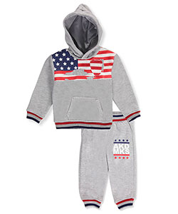 Akademiks Baby Boys' 2-Piece Fleece Sweatsuit - CookiesKids.com