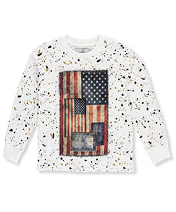 Akademiks Little Boys' Toddler L/S Shirt (Sizes 2T – 4T) - CookiesKids.com