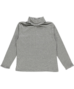 "Real Love Big Girls' ""Lettuce Edge"" L/S Turtleneck Shirt (Sizes 7 - 16) - CookiesKids.com"