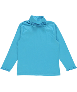 "Real Love Big Girls' ""Lettuce Edge"" L/S Turtleneck Shirt - CookiesKids.com"