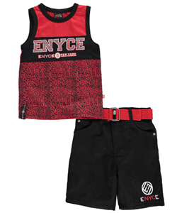 "Enyce Little Boys' ""Crackling Pavement"" 2-Piece Outfit (Sizes 4 – 7) - CookiesKids.com"