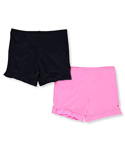 1000% Cute Little Girls' 2-Pack Playground Shorts (Sizes 4 – 6X) - CookiesKids.com