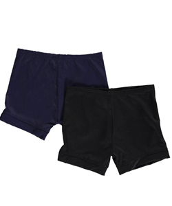 "1000% Cute Big Girls' ""One Color"" 2-Pack Playground Shorts (Sizes 7 – 16) - CookiesKids.com"