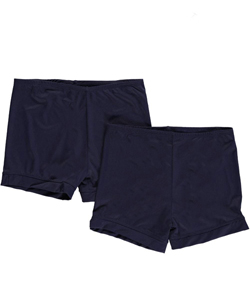 "1000% Cute Little Girls' ""Fun Run"" 2-Pack Playground Shorts (Sizes 4 – 6X) - CookiesKids.com"
