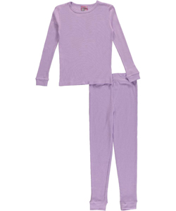 Ice2O Little Girls' Toddler 2-Piece Thermal Long Underwear Set (Sizes 2T - 4T) - CookiesKids.com