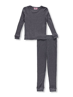 Ice2O Little Girls' 2-Piece Thermal Long Underwear Set (Sizes 4 - 6X) - CookiesKids.com