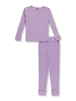 Ice2O Little Girls' 2-Piece Thermal Long Underwear Set (Sizes 4 – 7) - CookiesKids.com