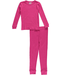 Sweet n Sassy Big Girls' 2-Piece Thermal Long Underwear Set (Sizes 7 – 16) - CookiesKids.com