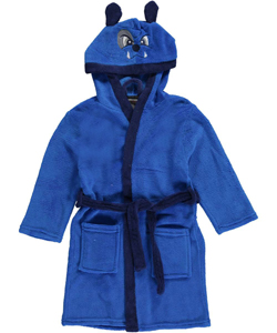 "American Hero Little Boys' ""Bulldog"" Plush Robe (Sizes 4 – 7) - CookiesKids.com"