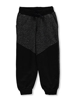 "Quad Seven Little Boys' ""Static & Solid"" Joggers (Sizes 4 – 7) - CookiesKids.com"