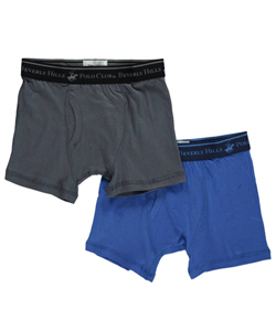 Beverly Hills Polo Club Big Boys' 2-Pack Boxer Briefs (Sizes 8 – 20) - CookiesKids.com