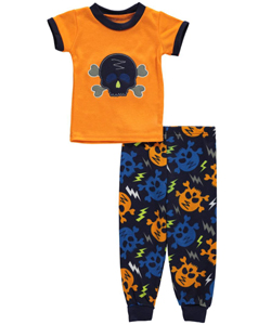 "Mac Henry Baby Boys' ""Skull & Bolts"" 2-Piece Pajamas - CookiesKids.com"