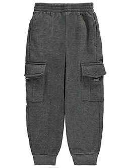 "Quad Seven Little Boys' Toddler ""Fleece Cargo"" Joggers (Sizes 2T – 4T) - CookiesKids.com"