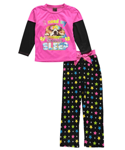 "Dollhouse Big Girls' ""Need My Beauty Sleep"" 2-Piece Pajamas (Sizes 7 – 16) - CookiesKids.com"