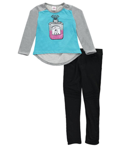 "Real Love Big Girls' ""Girls #1"" 2-Piece Outfit (Sizes 7 – 16) - CookiesKids.com"