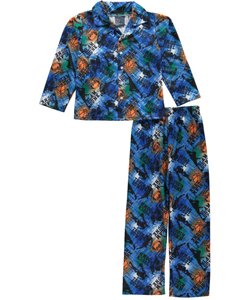 "Mac Henry Big Boys' ""Sportsmanlike"" 2-Piece Pajamas (Sizes 8 – 20) - CookiesKids.com"