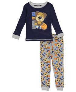 "Mac Henry Little Boys' Toddler ""Bring It On"" 2-Piece Pajamas (Sizes 2T – 4T) - CookiesKids.com"