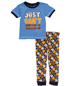 "Mac Henry Little Boys' ""Just Can't Miss"" 2-Piece Pajamas (Sizes 4 – 7) - CookiesKids.com"
