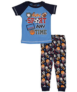 "Mac Henry Baby Boys' ""Any Sport Any Time"" 2-Piece Pajamas - CookiesKids.com"