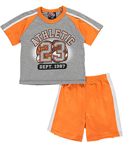 "Mad Game Little Boys' Toddler ""Athletic 23"" 2-Piece Outfit (Sizes 2T – 4T) - CookiesKids.com"