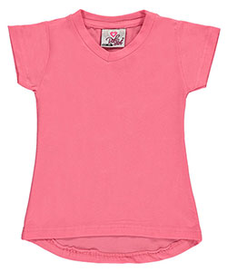 "Real Love Little Girls' Toddler ""Stretch Flared"" V-Neck T-Shirt (Sizes 2T – 4T) - CookiesKids.com"