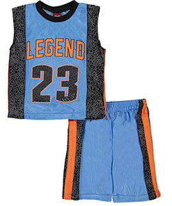 "Mad Game Big Boys' ""Legend"" 2-Piece Outfit (Sizes 8 – 20) - CookiesKids.com"