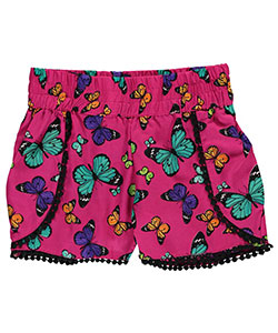 "Real Love Big Girls' ""In Flight"" Shorts (Sizes 7 – 16) - CookiesKids.com"