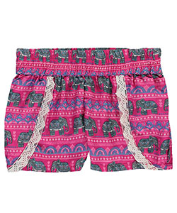 "Real Love Big Girls' ""Icon"" Shorts (Sizes 7 – 16) - CookiesKids.com"