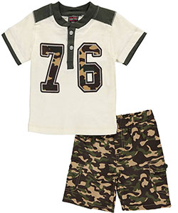 "Enyce Baby Boys' ""Varsity League"" 2-Piece Outfit - CookiesKids.com"