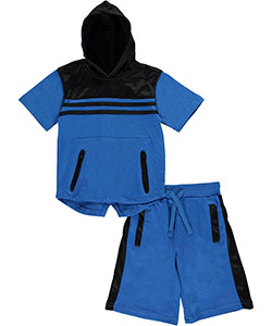 "Quad Seven Big Boys' ""Mighty Mesh"" 2-Piece Outfit (Sizes 8 – 20) - CookiesKids.com"