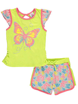 "Real Love Big Girls' ""Fly Free"" 2-Piece Outfit (Sizes 7 – 16) - CookiesKids.com"