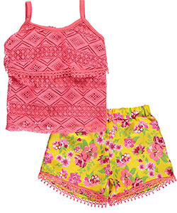 "Real Love Baby Girls' ""Floral Sands"" 2-Piece Outfit - CookiesKids.com"