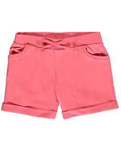 "Real Love Big Girls' ""Morning Run"" French Terry Shorts (Sizes 7 – 16) - CookiesKids.com"