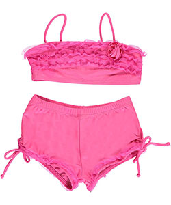 "2 B Real Little Girls' Toddler ""Cool Breeze"" 2-Piece Bikini (Sizes 2T – 4T) - CookiesKids.com"