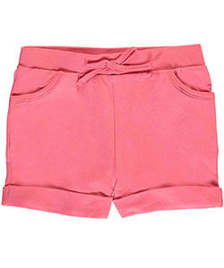 "Real Love Little Girls' ""Morning Run"" French Terry Shorts (Sizes 4 – 6X) - CookiesKids.com"