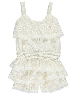"Real Love Little Girls' Toddler ""Layer Cake"" Romper (Sizes 2T – 4T) - CookiesKids.com"