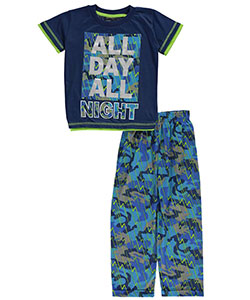 "Mac Henry Little Boys' ""All Day, All Night"" 2-Piece Pajamas (Sizes 4 – 7) - CookiesKids.com"