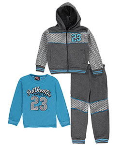 "Mad Game Little Boys' Toddler ""23 Varsity"" 3-Piece Outfit (Sizes 2T – 4T) - CookiesKids.com"