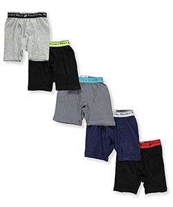 Beverly Hills Polo Club Little Boys' Toddler 5-Pack Boxer Briefs (Sizes 2T – 4T) - CookiesKids.com