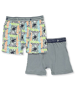Beverly Hills Polo Club Big Boys' 2-Pack Boxer Briefs (Sizes 8 – 18) - CookiesKids.com