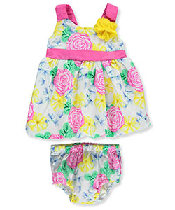 "Real Love Baby Girls' ""Amazonia"" Dress with Diaper Cover - CookiesKids.com"