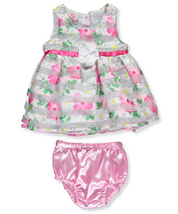 "Real Love Baby Girls' ""Sweet Daisy"" Dress with Diaper Cover - CookiesKids.com"