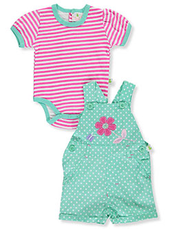 "Duck Duck Goose Baby Girls' ""Flower Patch"" 2-Piece Outfit - CookiesKids.com"
