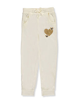 "Real Love Big Girls' ""Bubble Hearts"" Joggers (Sizes 7 – 16) - CookiesKids.com"