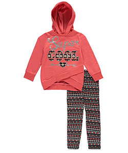 Real Love Little Girls' 2-Piece Outfit (Sizes 4 – 6X) - CookiesKids.com