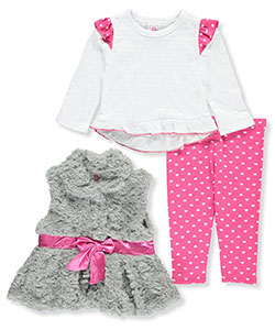 Real Love Baby Girls' 3-Piece Outfit - CookiesKids.com